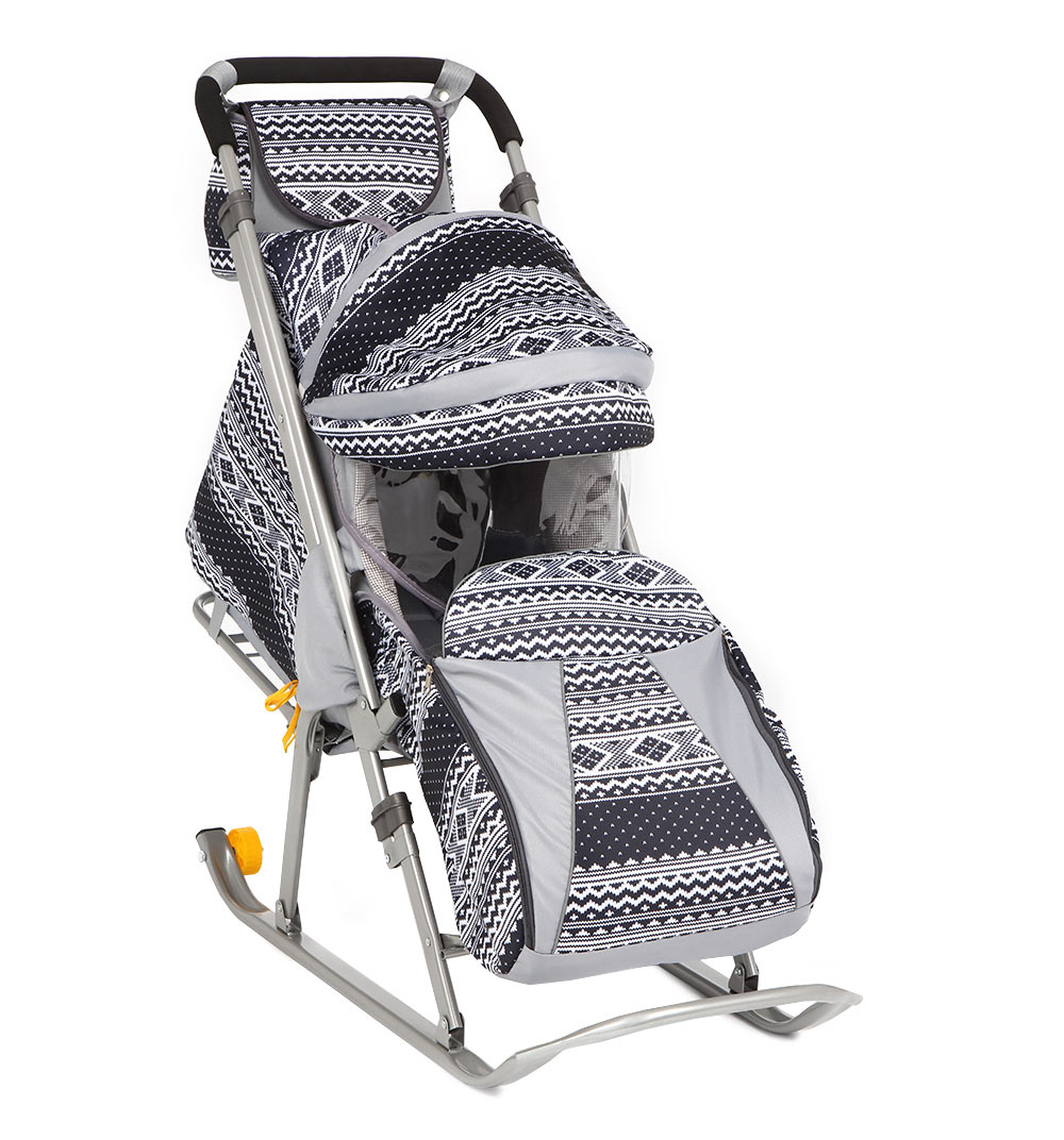 фото санки коляска скандинавия