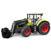 Трактор Claas Axion 950 c погрузчиком